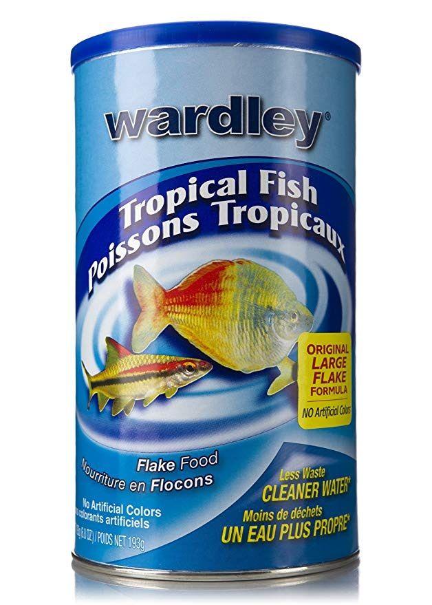 Image Can Bettas Eat Tropical Fish Food - Wardley Tropical Fish Food Flakes - 6.8oz