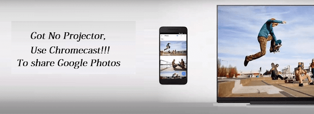 google chromecast features - Share Photos