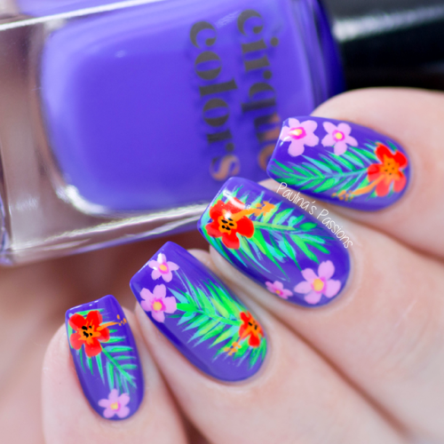 Nail Art Essentials Colorful Tropical Tutorial