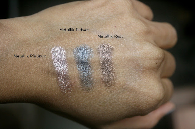 Laura Mercier Editorial Eye Palette Intense Clays Swatches