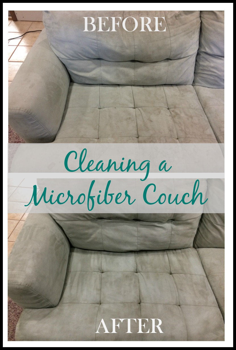 Real Girl S Realm Cleaning A Microfiber Couch