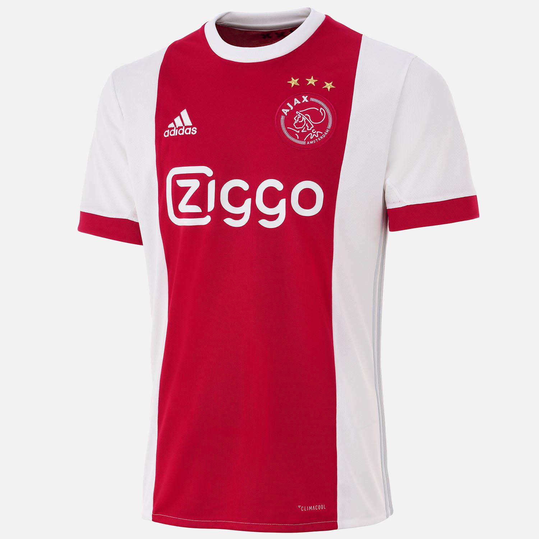 Ajax 17-18 Home Kit Released - Footy Headlines