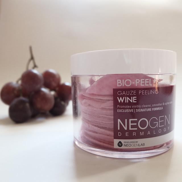 review neogen bio peel gauze peeling wine