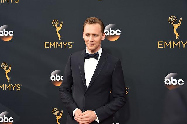 Tom hiddleston at Emmy awards 2016