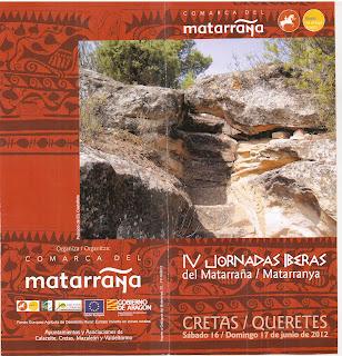 IV Jornadas Iberas de Cretas, Matarraña(Teruel)