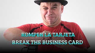 Romper la tarjeta, PAPER FOLDING THEOREM, Break the business card