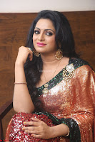 Udaya Bhanu lookssizzling in a Saree Choli at Gautam Nanda music launchi ~ Exclusive Celebrities Galleries 009.JPG