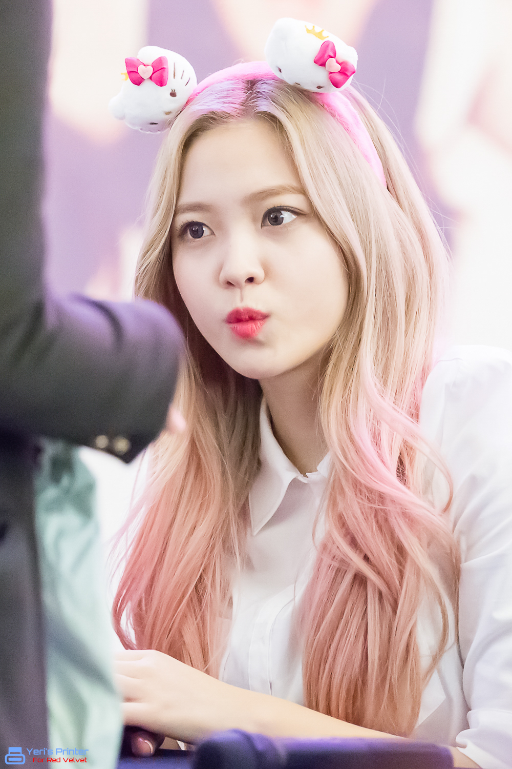 I Love Red Velvet Yeri Rv 2nd Album The Velvet Fansign
