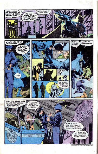 Detective Comics v1 #478 dc comic book page art by Marshall Rogers