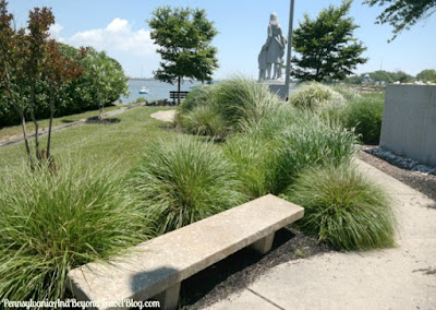 Fishermen's Memorial in Cape May, New Jersey