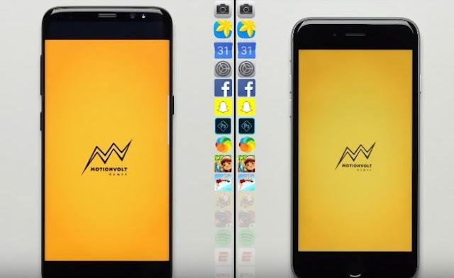 يتفوق IPhone 6S على Galaxy S8 في السرعة