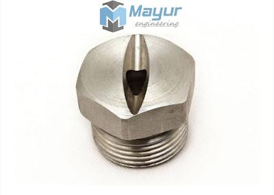 Dovetail Type Flat Spray Nozzle Mayur Engg