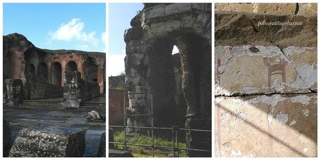 Altri particolari dell'anfiteatro di Santa Maria Capua Vetere