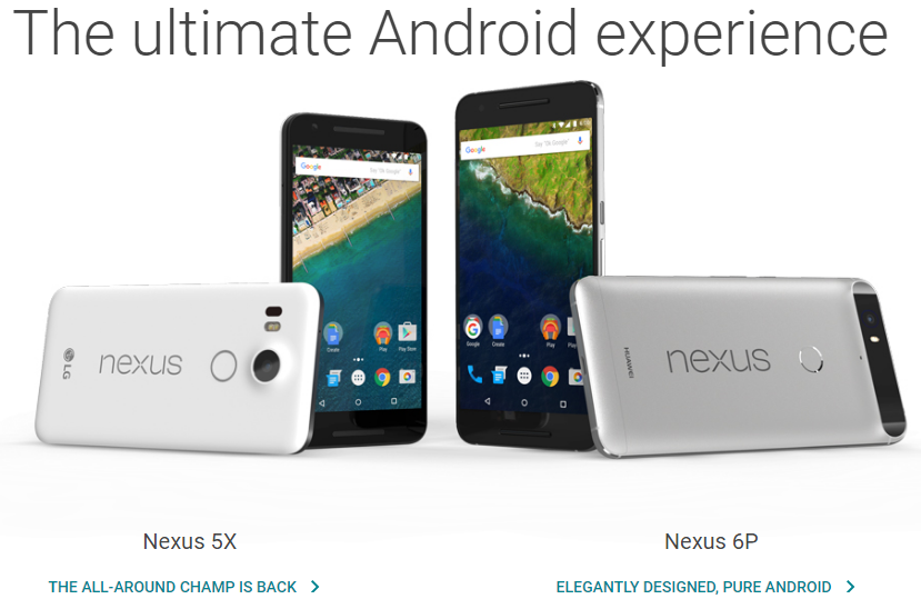 Google Pixel vs Nexus comparison