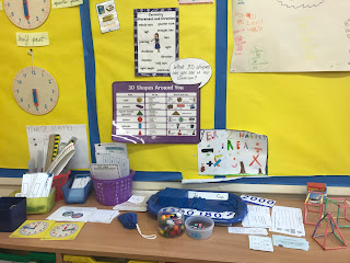primary school classroom maths area year 2