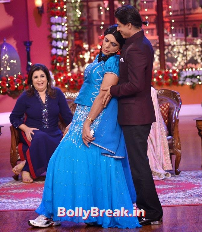 Shah Rukh Khan and Sunil Grover, Happy New Year Team CNWK Pics