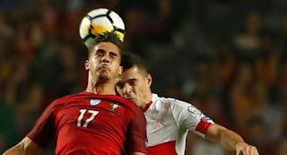Portugal vs Swiss 2-0 Kualifikasi Piala Dunia 2018