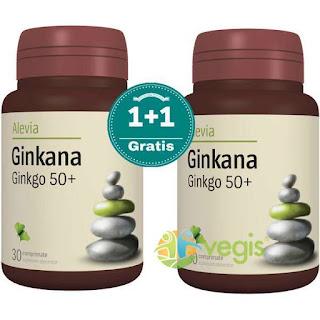 Ginkana (Ginkgo Biloba Forte) la promotie 1+1 comanda aici