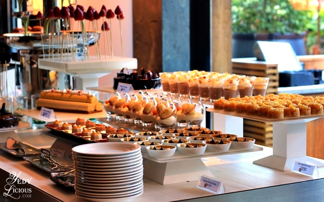Pastry Section at Nobu Hotel Brunch Buffet City of Dreams Manila