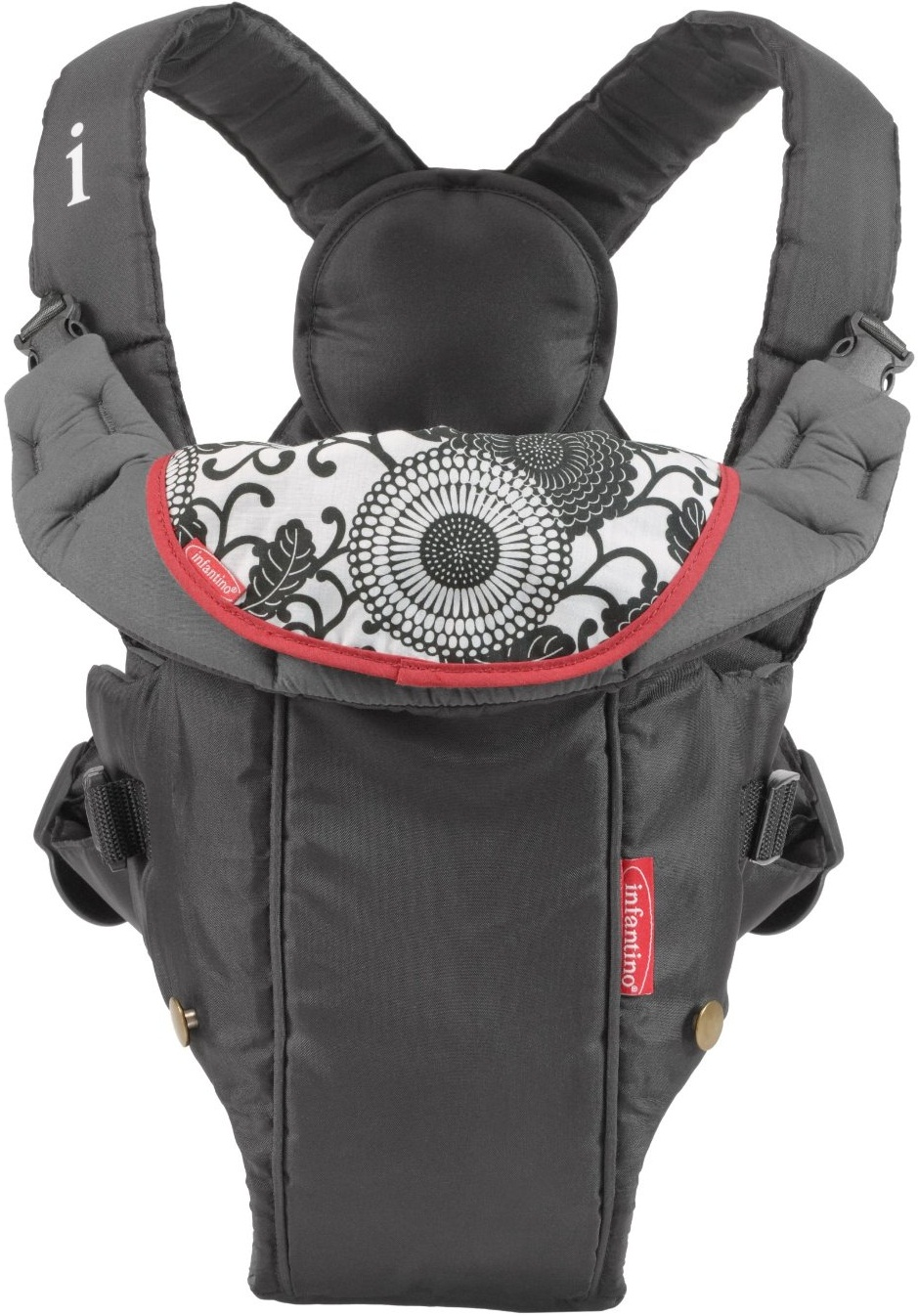 Infantino Swift Classic Baby Carrier Black Baby Cinema