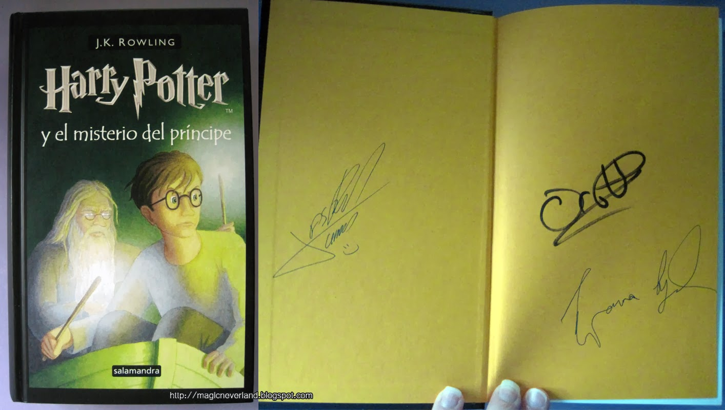 James Potter Libros Neverland Book Tag Libros Firmados