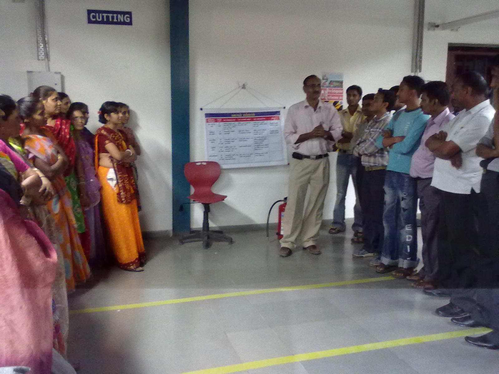 Fire Drill in Garment Factory - Fashion Literacy