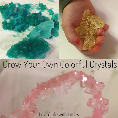 how to grow your own crystals with sugar