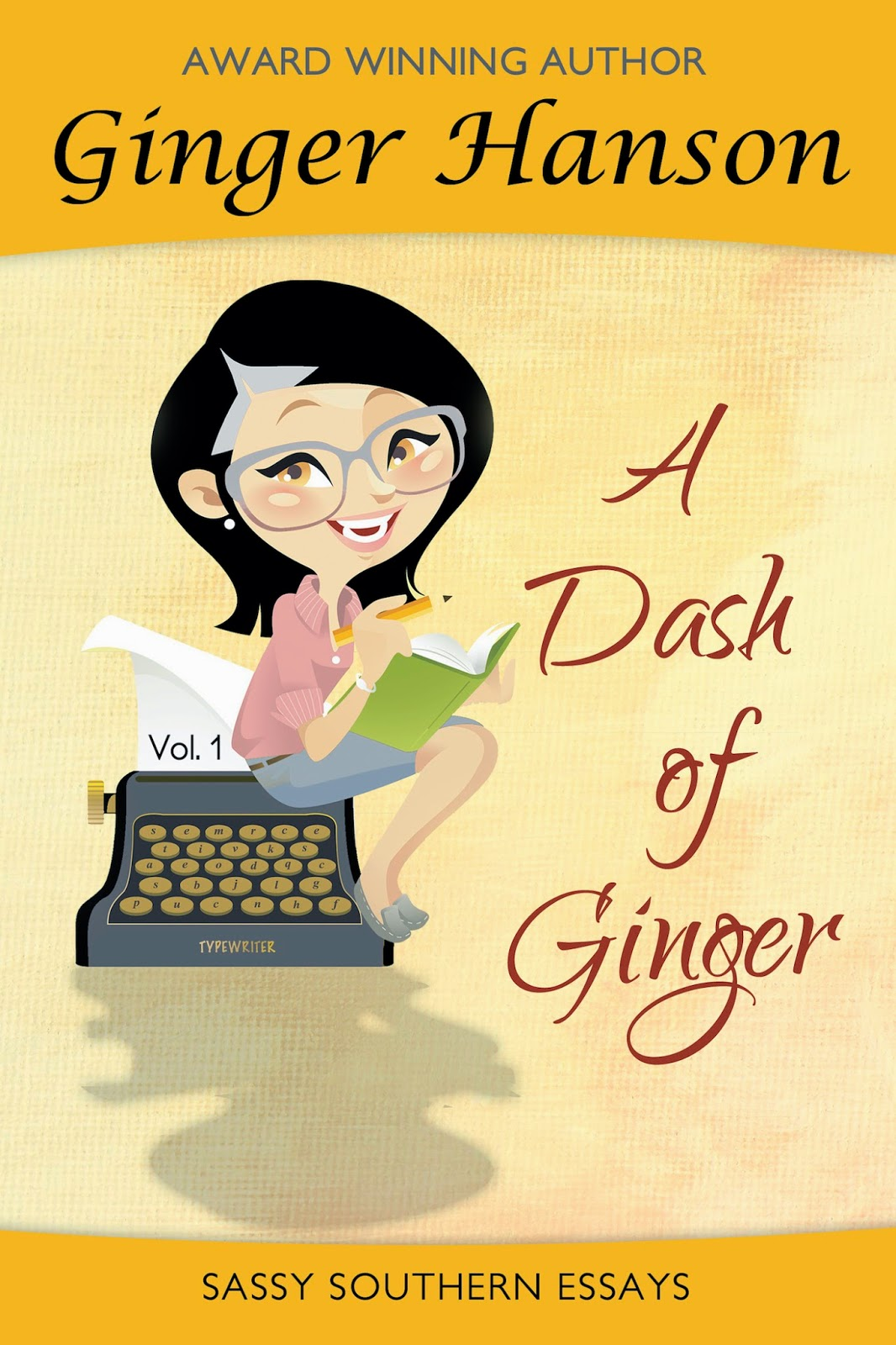 Cover of A Dash of Ginger