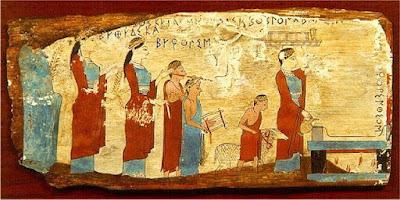 Τι σημαίνει η έκφραση «του έσυρε τα εξ αμάξης» και τι σχέση έχει με τα Ελευσίνια Μυστήρια. Η κόντρα των «γνήσιων» Αθηναίων με τους «αλλόθρησκους» και οι μεταξύ τους βρισιές...