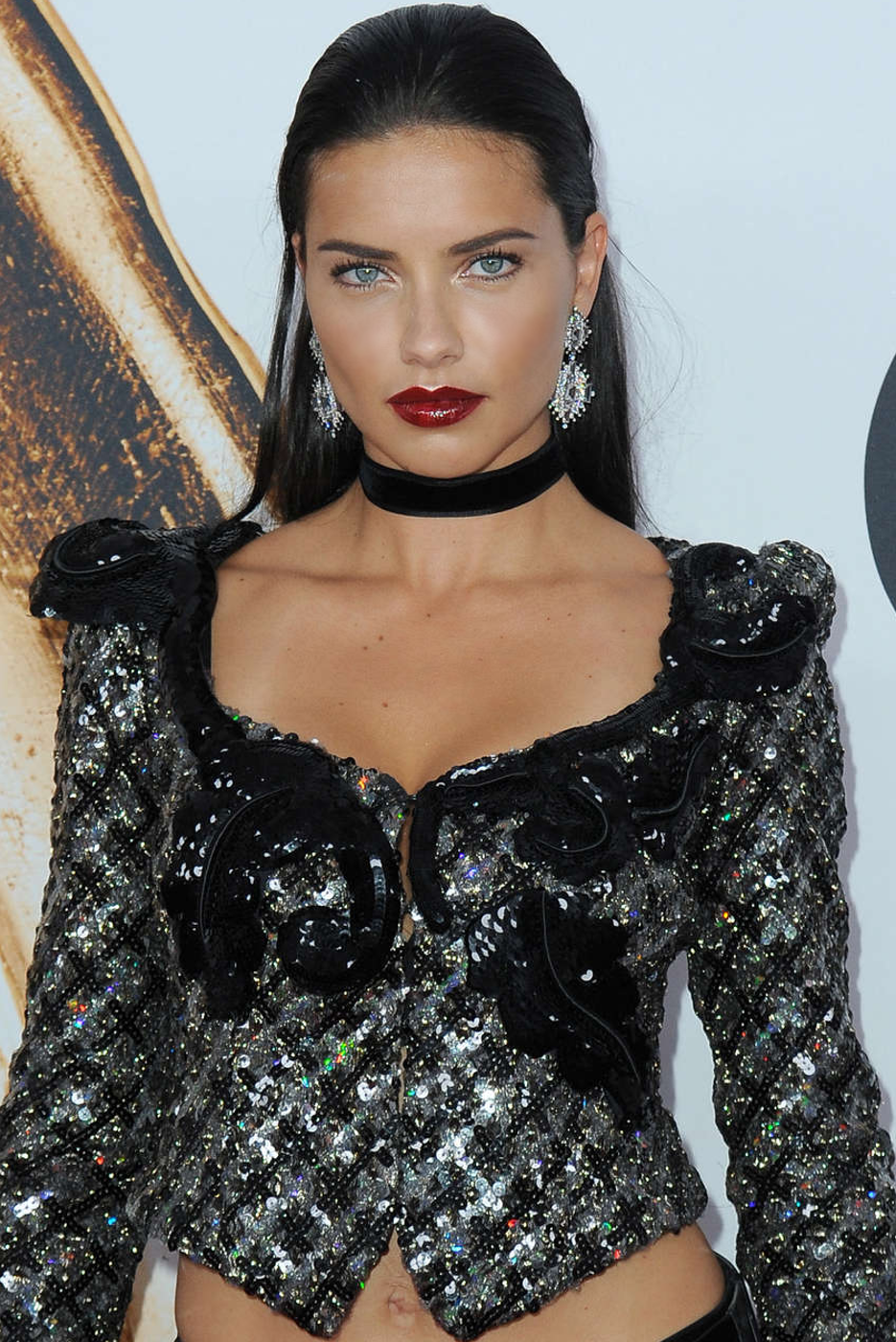 Adriana Lima 2016 CFDA Awards