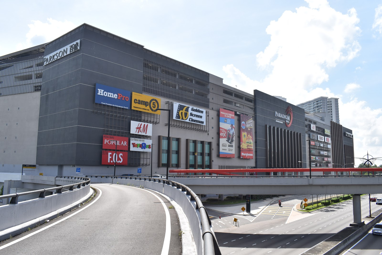 paradigm mall johor bahru: the new southern belle