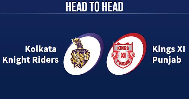 KKR vs KXIP Head to Head: KXIP vs KKR Head to Head IPL Records