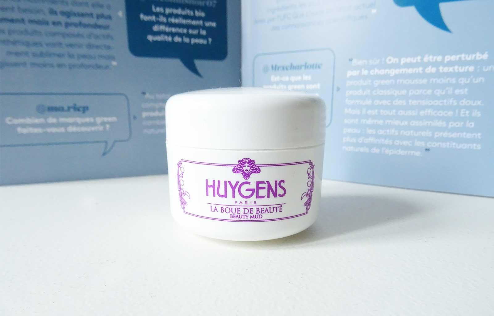 Huygens, Boue de beauté