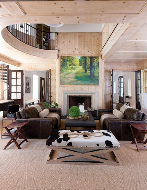 The Jones Studio living room