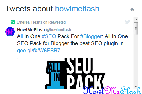 How to Display Recent Tweets in Blogger with Twitter Widgets
