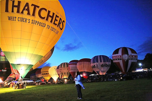 Bristol International Balloon Fiesta Media Pass Plus size travel blogger