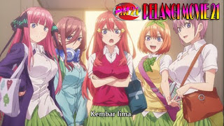 Go-Toubun no Hanayome Episode 1 Subtitle Indonesia