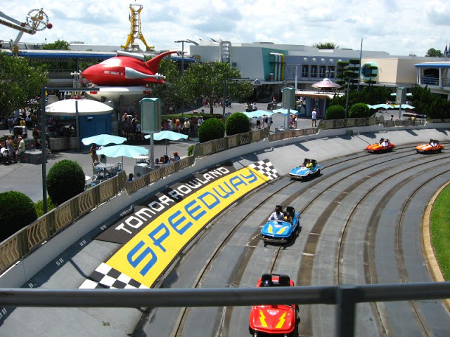 Tomorrowland Indy Speedway en Magic Kingdom
