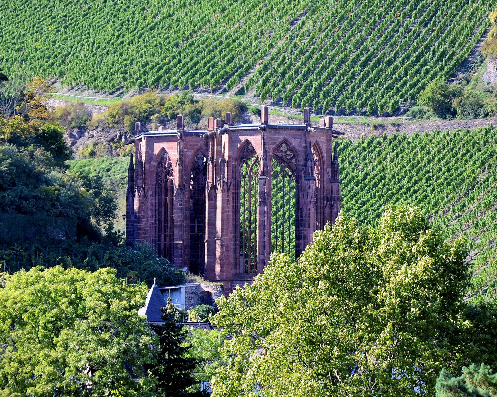 Werner Chapel ruins serve as a reminder of darker times in the 13th century when the unexplained death of a 16-year-old boy led to the persecution of Jews in 13th century.