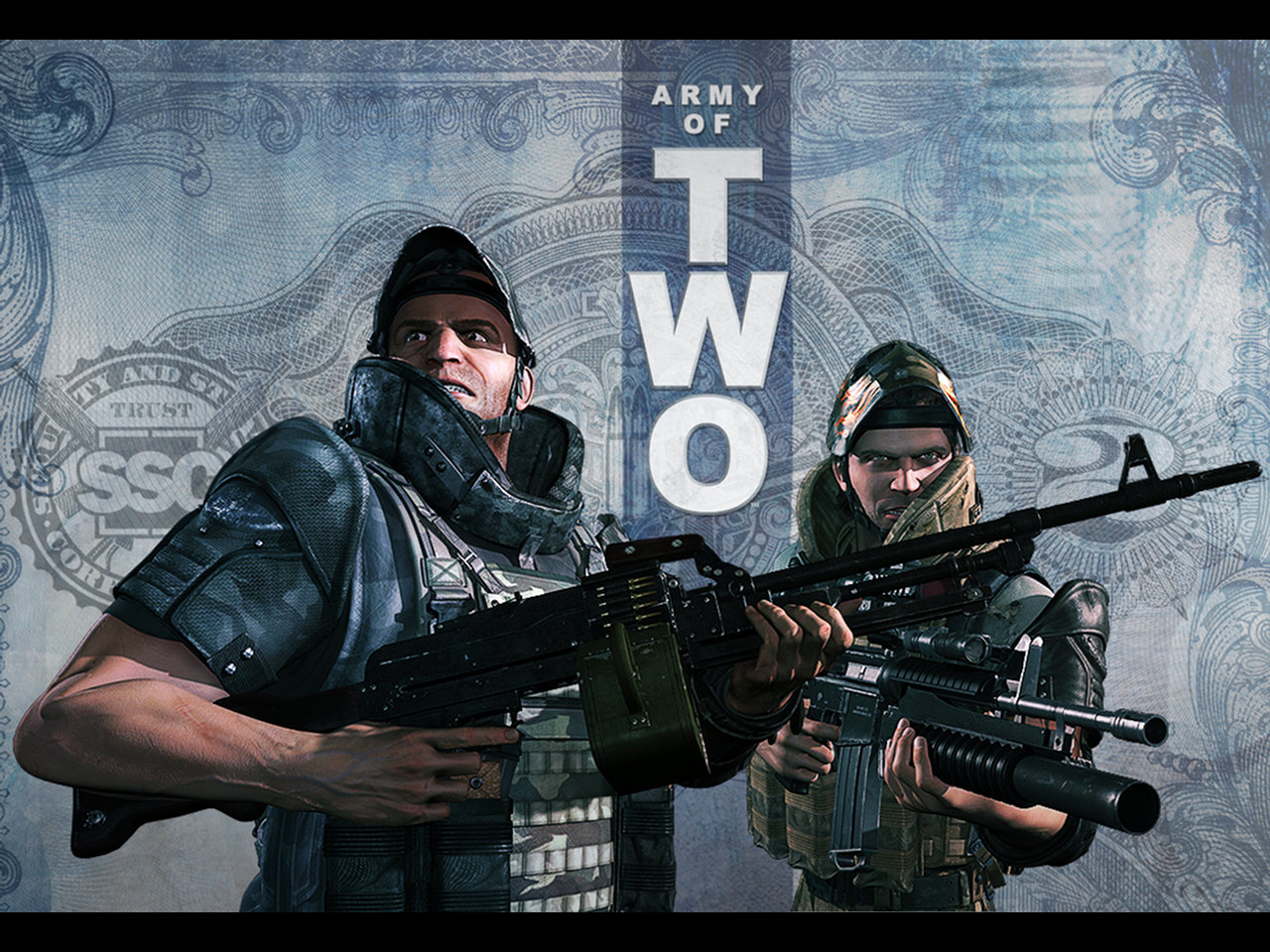 Desktop Wallpapers: Army Of Two