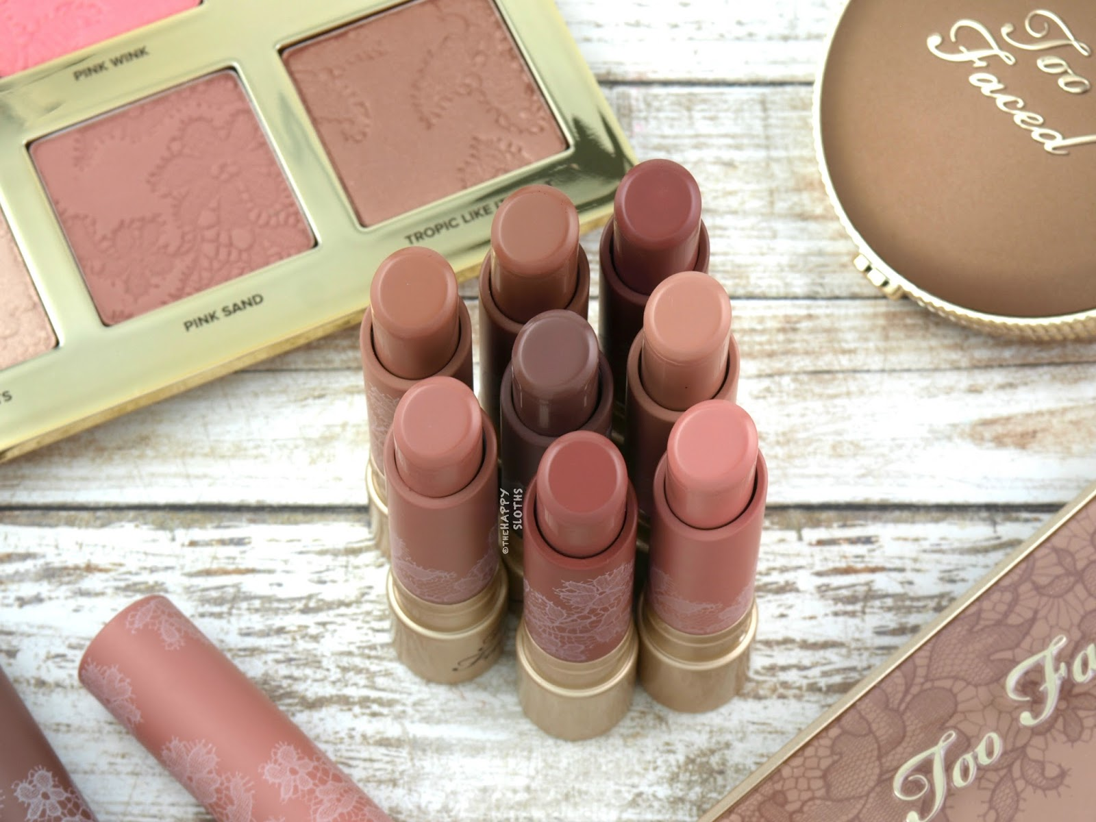 Too Faced | Natural Nudes Intense Color Coconut Butter Lipstick: Review and Swatches