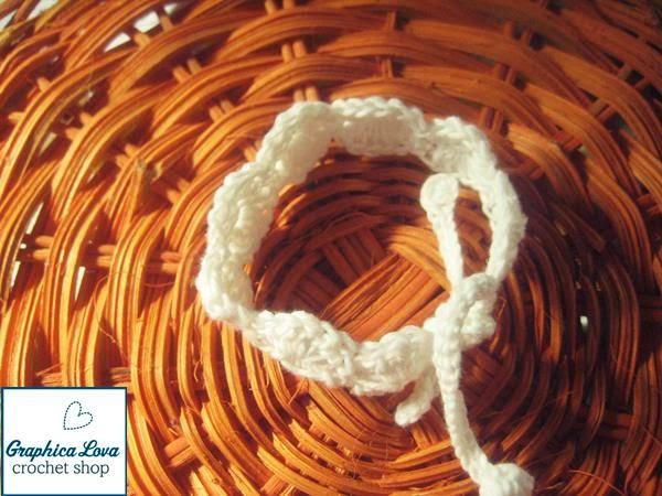 free diy crochet bracelet pattern