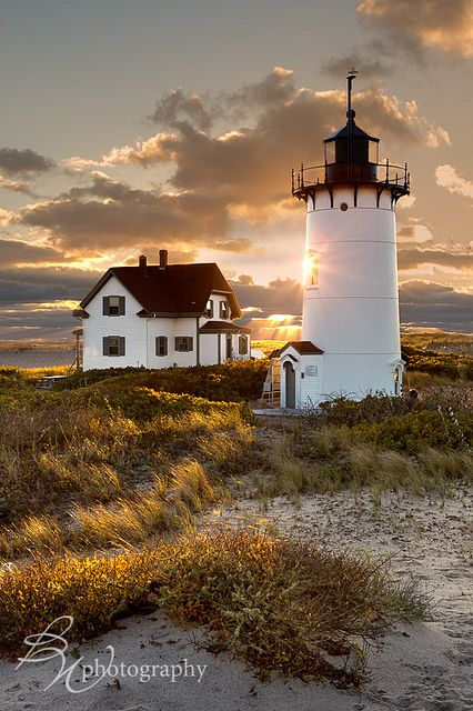 Race Point Lighthouse, Cape Cod, Massachusetts, USA