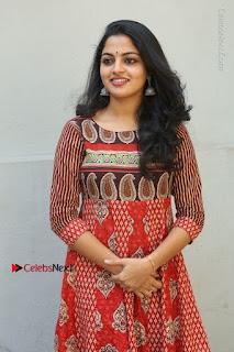 Telugu Actress Nikhila Vimal Latest Stills in Anarkali Dress  0019.JPG