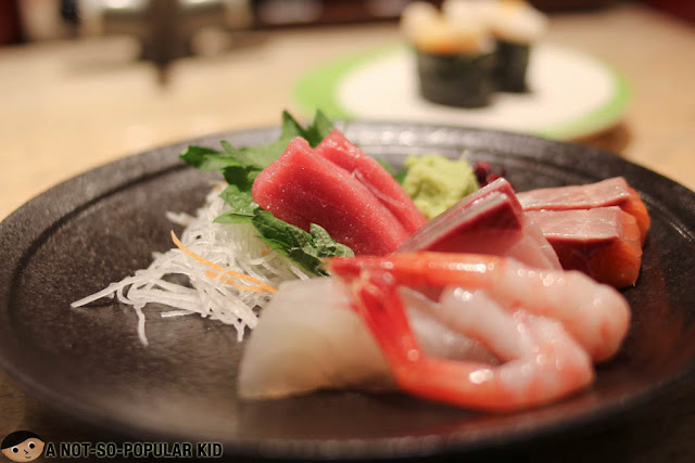 Fresh sashimi set of Chojiro in Kyoto