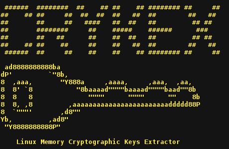 CryKeX - Linux Memory Cryptographic Keys Extractor - Masuk