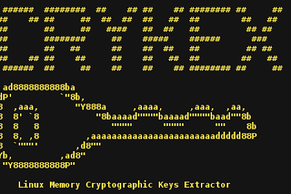 CryKeX - Linux Memory Cryptographic Keys Extractor