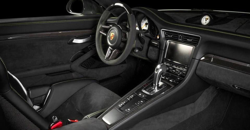 Porsche Gt Rs Alcantara Interior Is The Most Luxurious Ever Ajpg