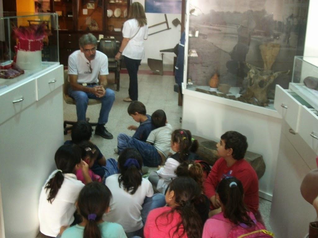 Ichoalay, Visitas, 2015, Escuela