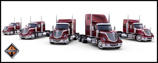 Family of International Trucks